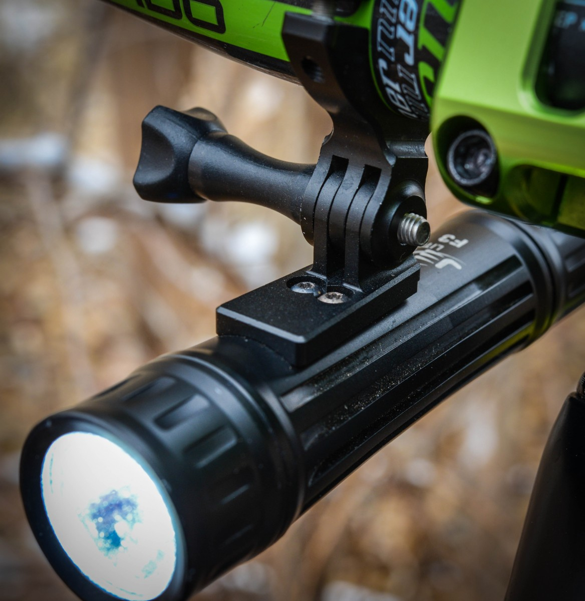 The mount makes it easy to attach and secure this light in seconds.