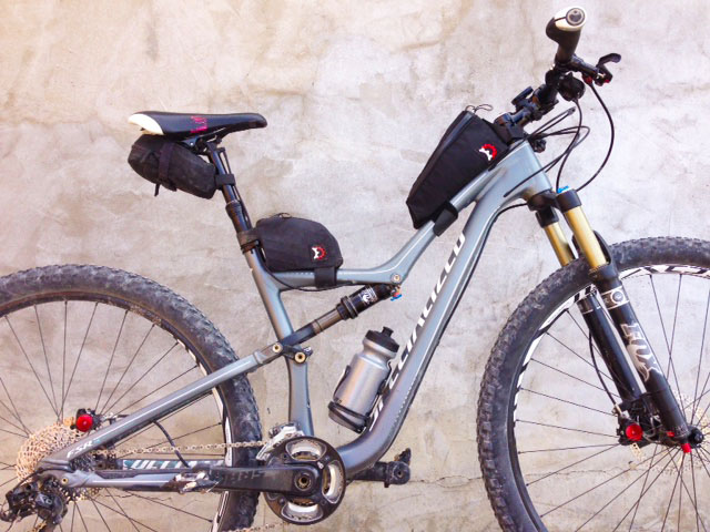 The Benefits Of Mountain Biking With Frame Bags Singletracks