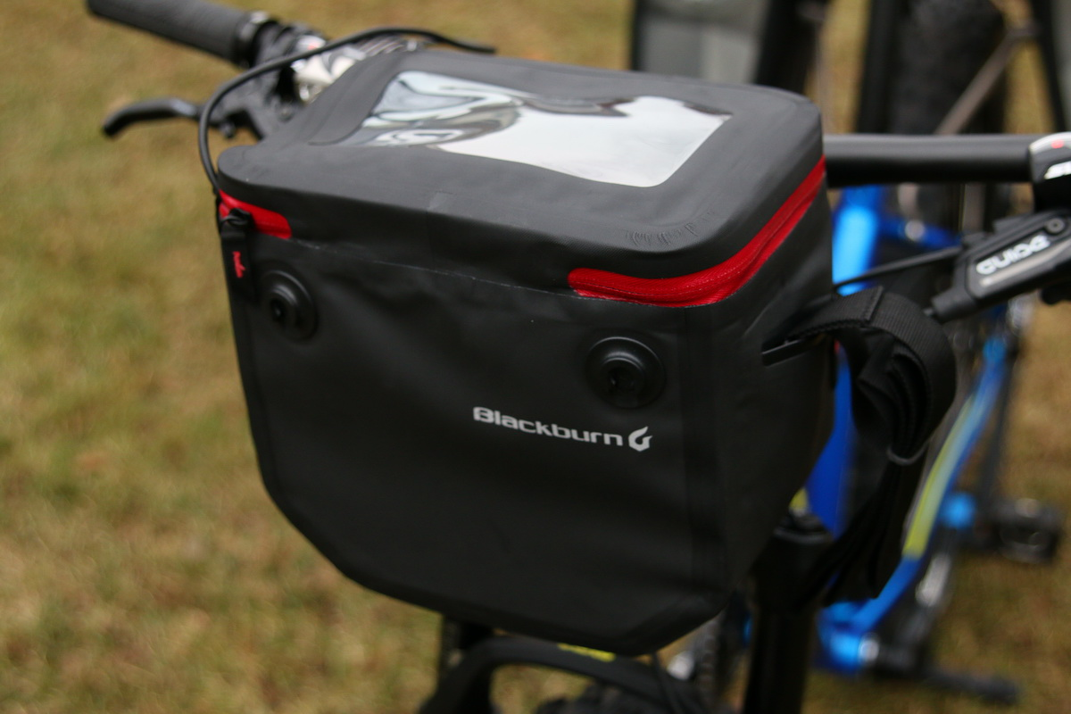 The Barrier Handlebar Bag Is Made In Same Fashion As Panniers With Waterproof Materials And Zippers
