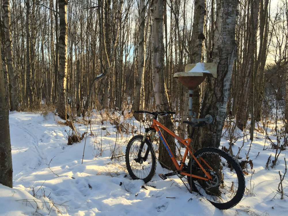 mountainbike snow winter extreme-#44