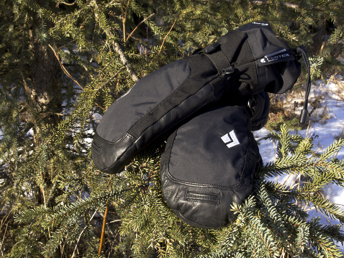 These mitts have seen plenty of action between biking, skiing, ice climbing, mountaineering...