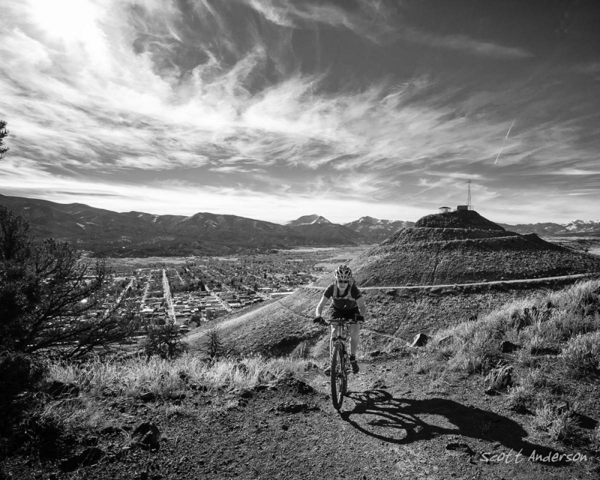 Arkansas Hills, Salida, Colorado. Photo: Scott Anderson.