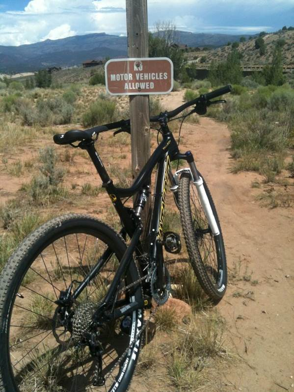 The Turniphead trailhead in Eagle, CO