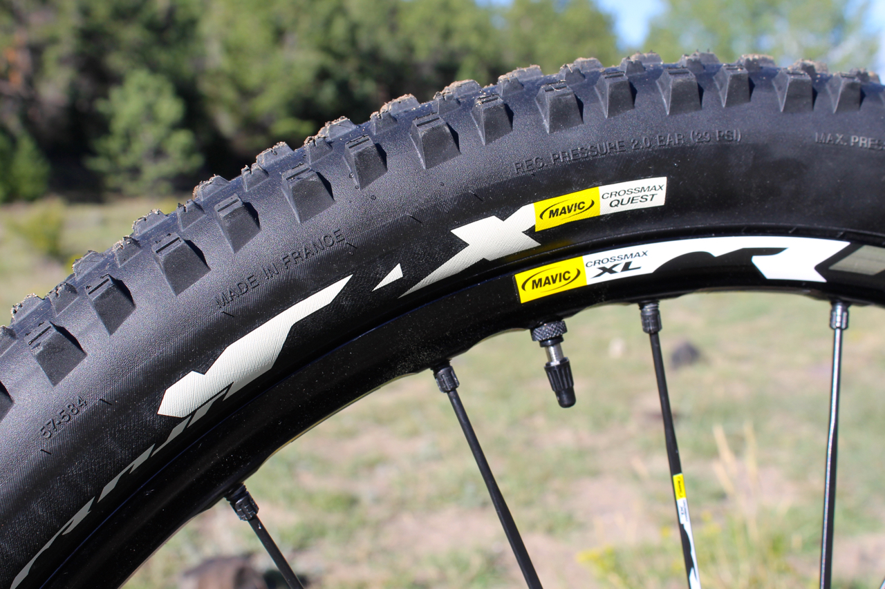 Mavic Crossmax Wheel System. Made in France.