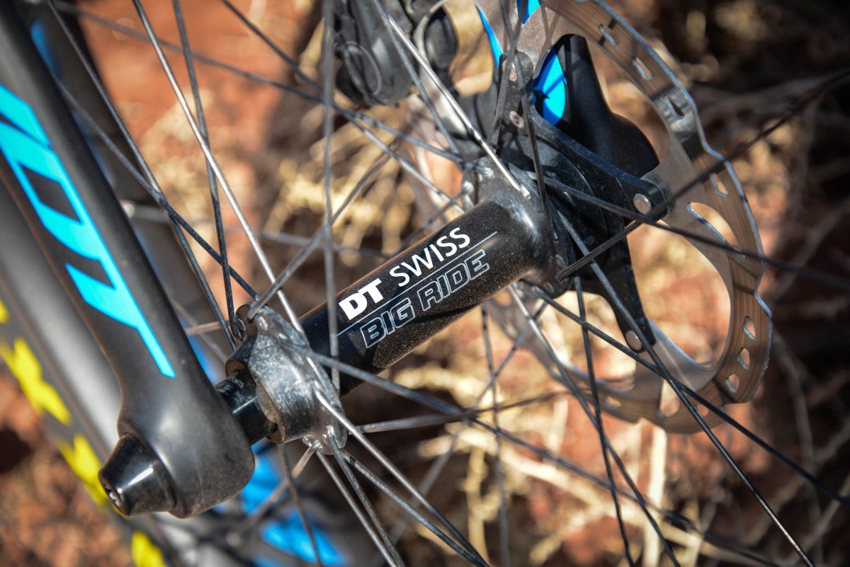 DT Swiss is also making hubs for fatbikes, assured to be just as reliable and serviceable as their other products