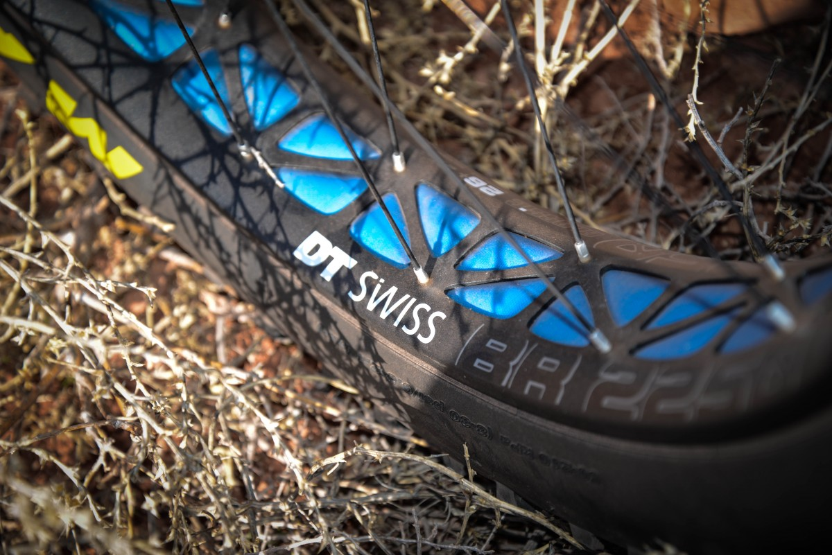 Another new product this year, the DT Swiss wheels are exceptional, but some mechanics are skeptical about setting these up as reliable tubeless wheels