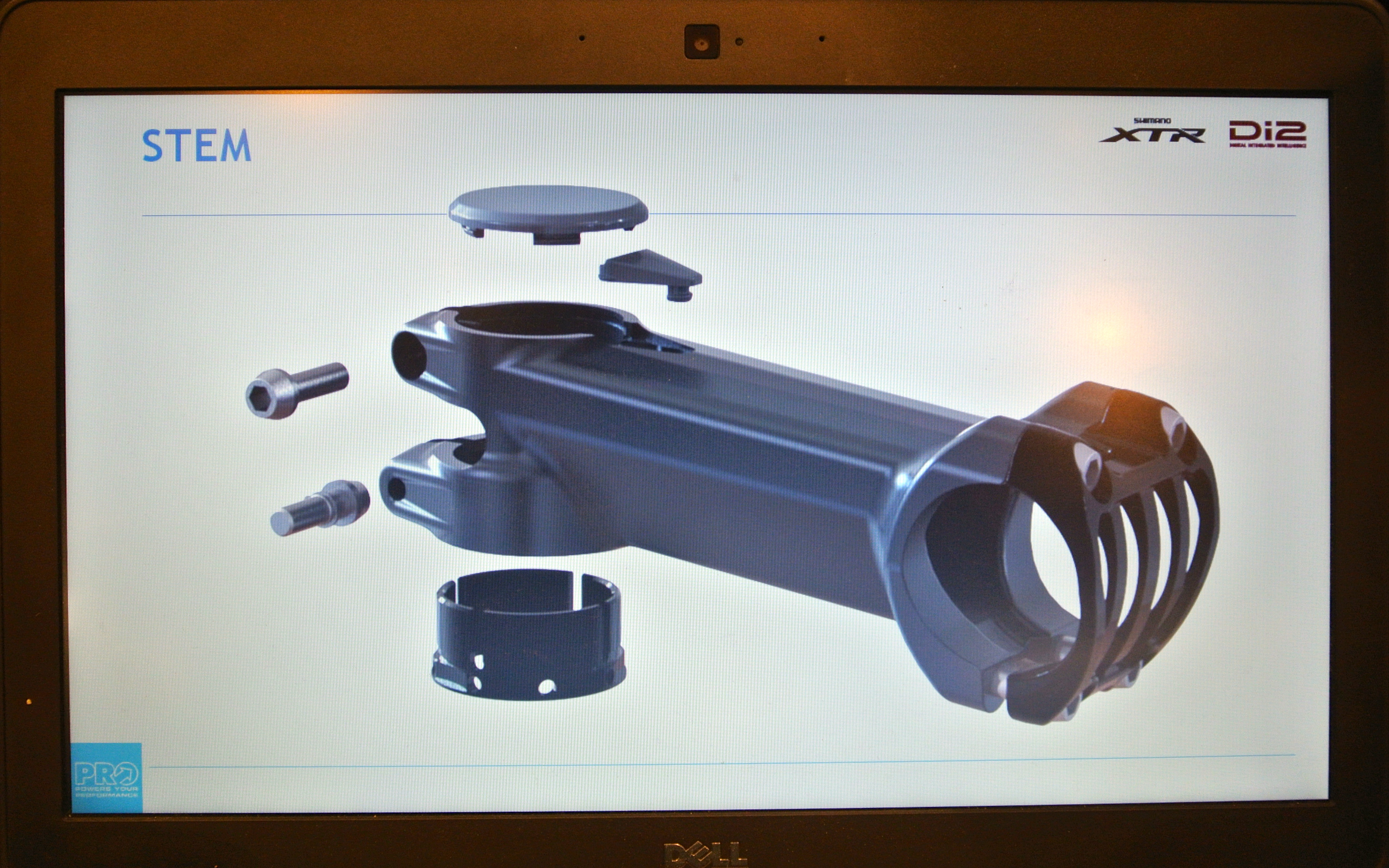 Nahbs 2015 New Di2 Compatible Pro Components From Shimano Wiring Diagram Exploded Of The Tharsis Stem