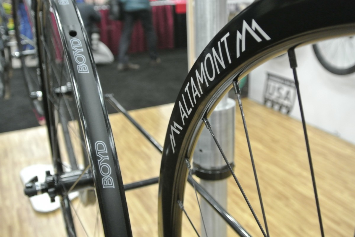 Boyd Cycling's Altamont wheelset