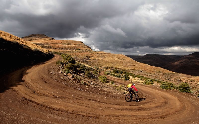 Ominous clouds in South Africa - Photo courtesy of the Freedom Trail webpage