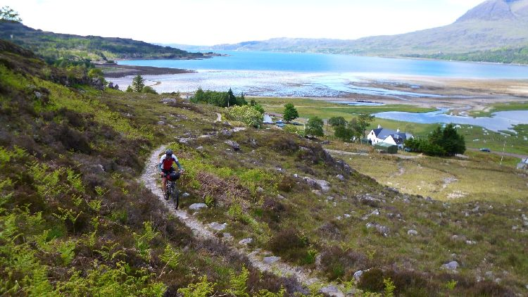 The Scottish Highlands. Words fail me. - Photo courtesy of the Highland Trail Race webpage