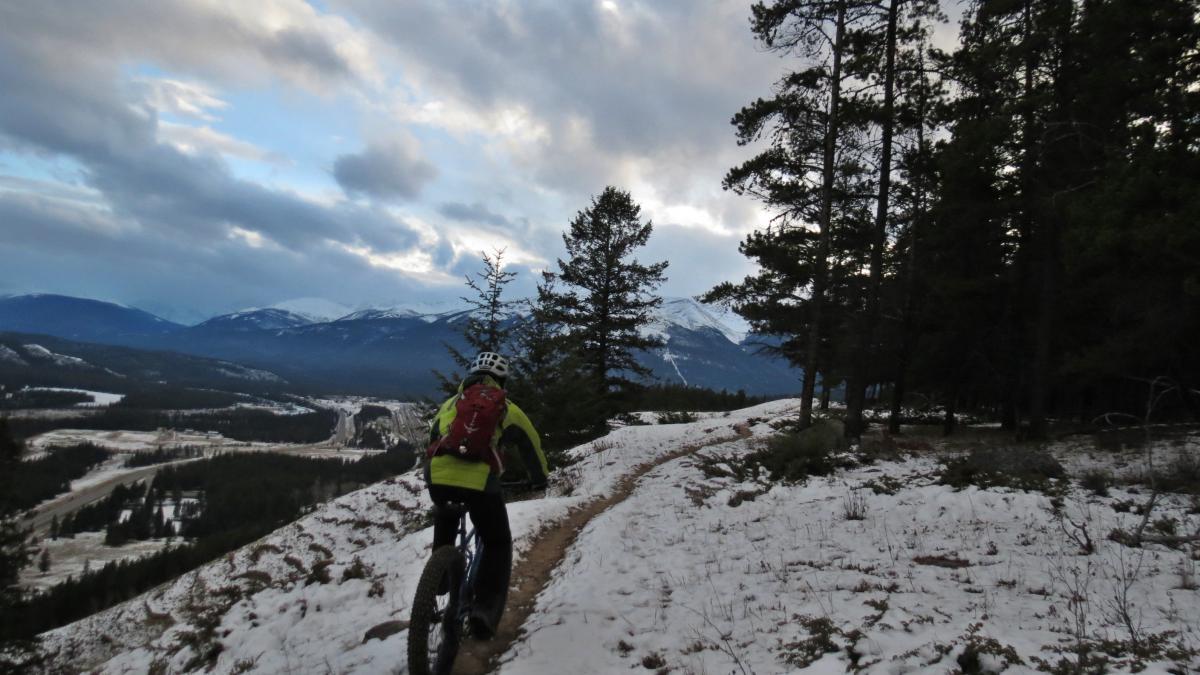 Trail: Pyramid Bench, Jasper, Alberta. Photo: chuckpelley
