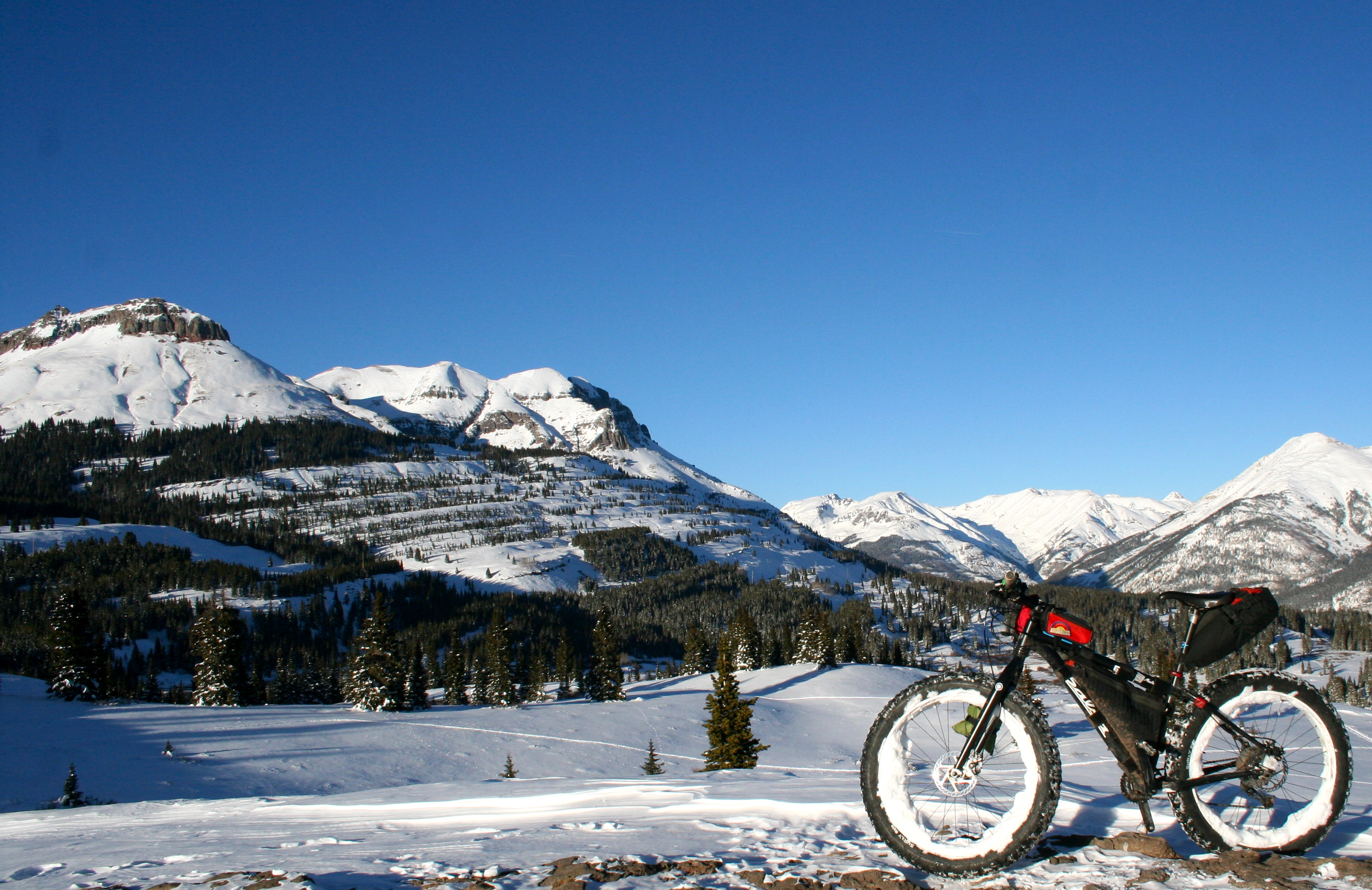 Jaw-dropping views and big terrain defines the 550 corridor north of Durango.