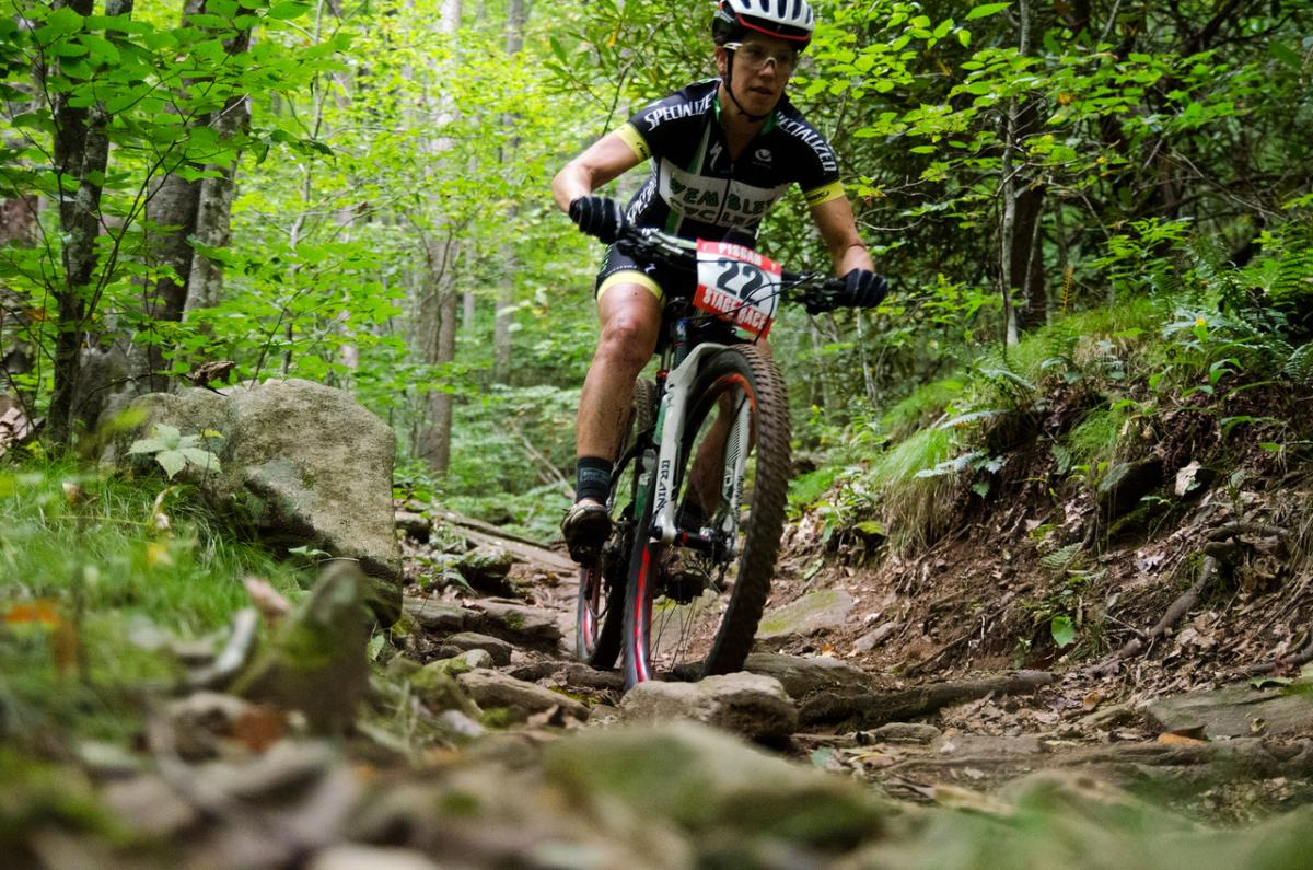 Pisgah Stage Race, North Carolina. Photo: Blue Ridge Adventures