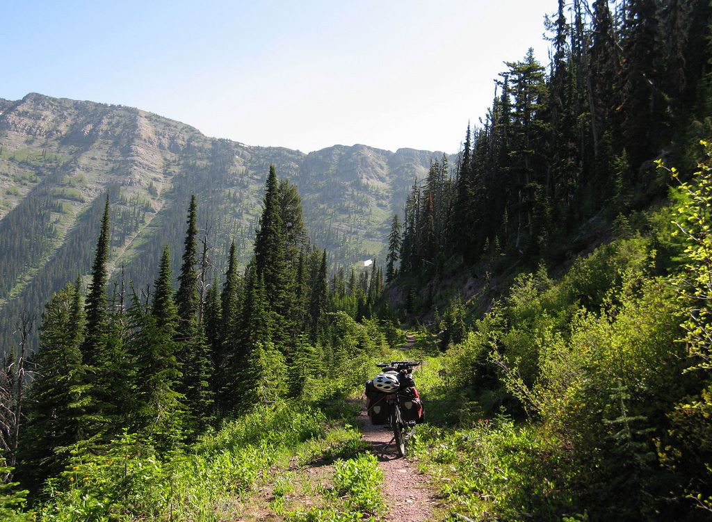 Go further on your mountain bike - Photo Courtesy of Tour Divide's Facebook page