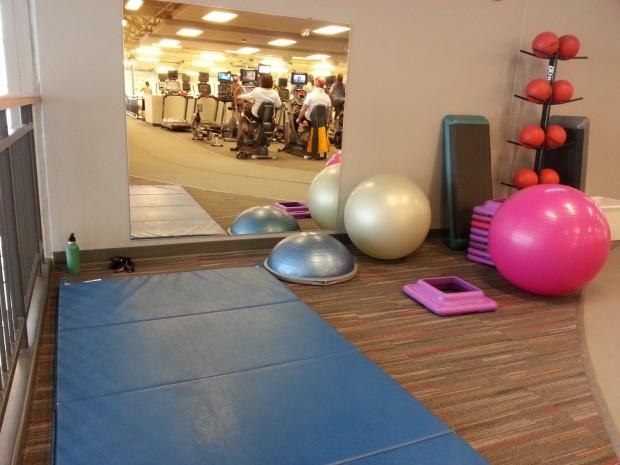 YMCA tumbling pad