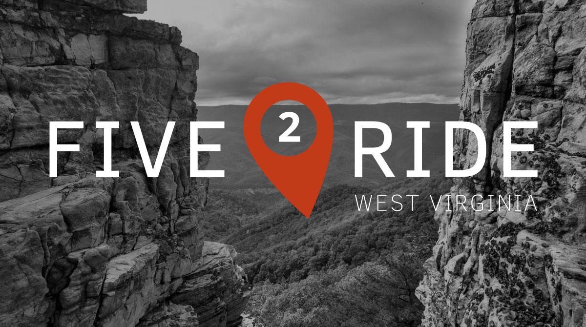 five2ride_west_virginia