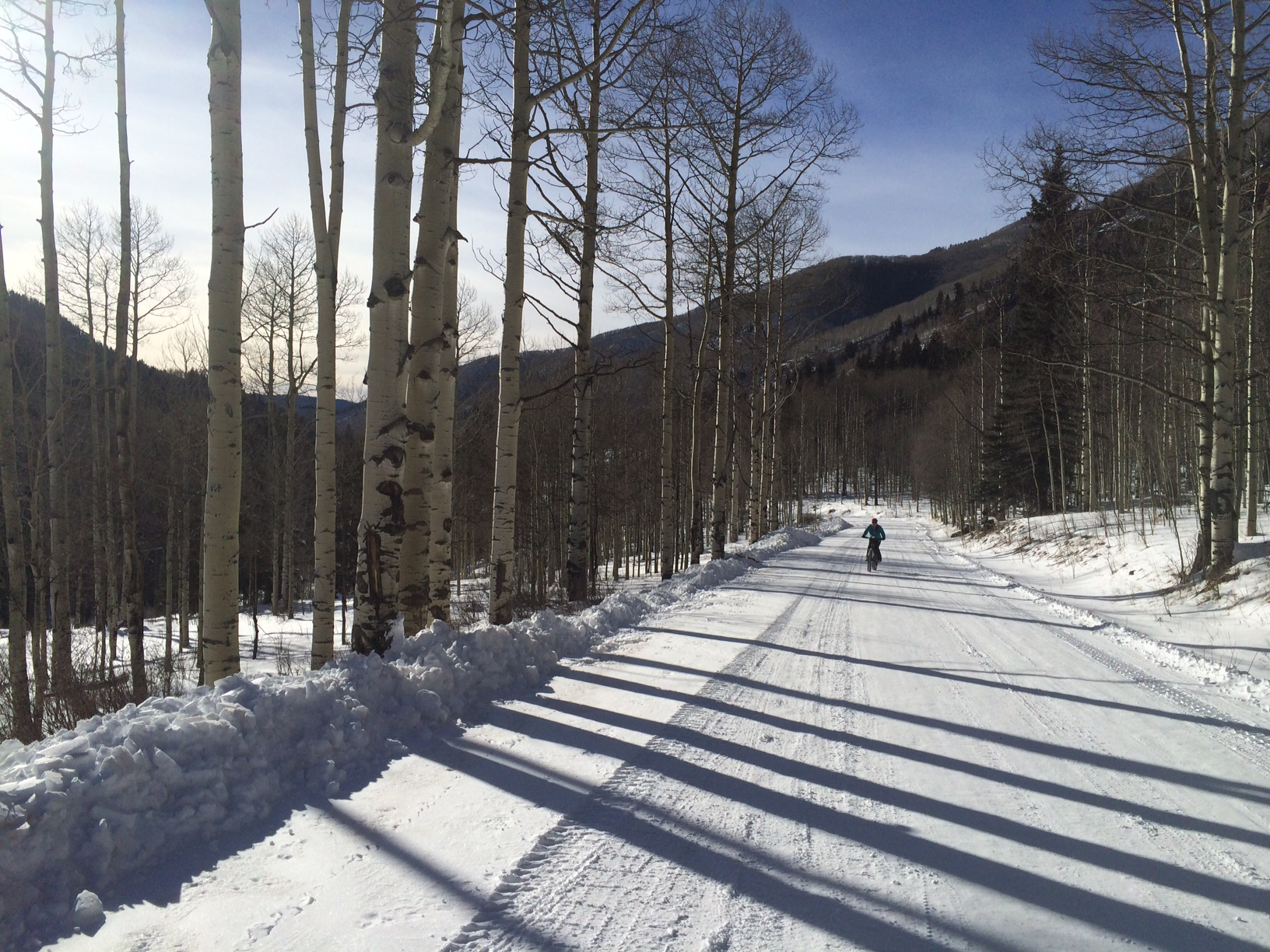 Forest roads and sled trails provide big miles and smiles.