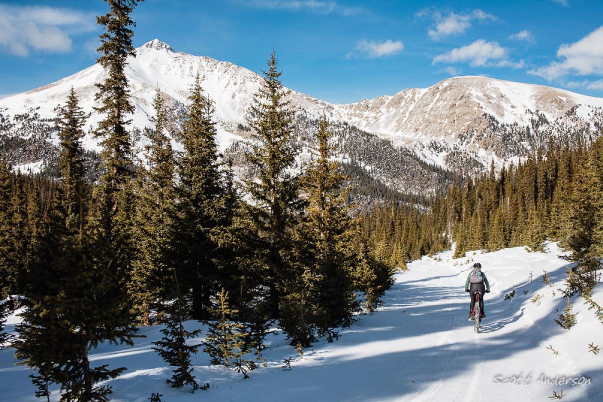 """Stunning views from the Ptarmigan Loop off of Cottonwood Pass."" Buena Vista, Colorado. Photo: Scott Anderson"