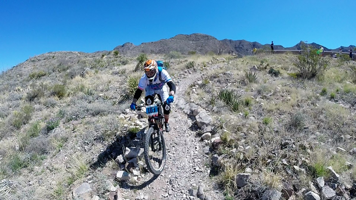 It's hard to keep speed in downhill sections on a race if you're too pegged from pedalling.