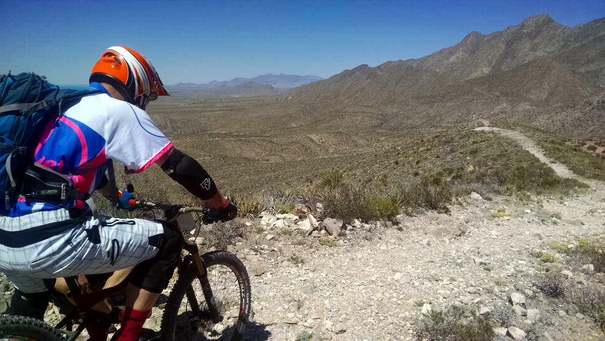 Waiting to be released on the top of Stage 2. Photo by: jkldouglas. Rider: Conner
