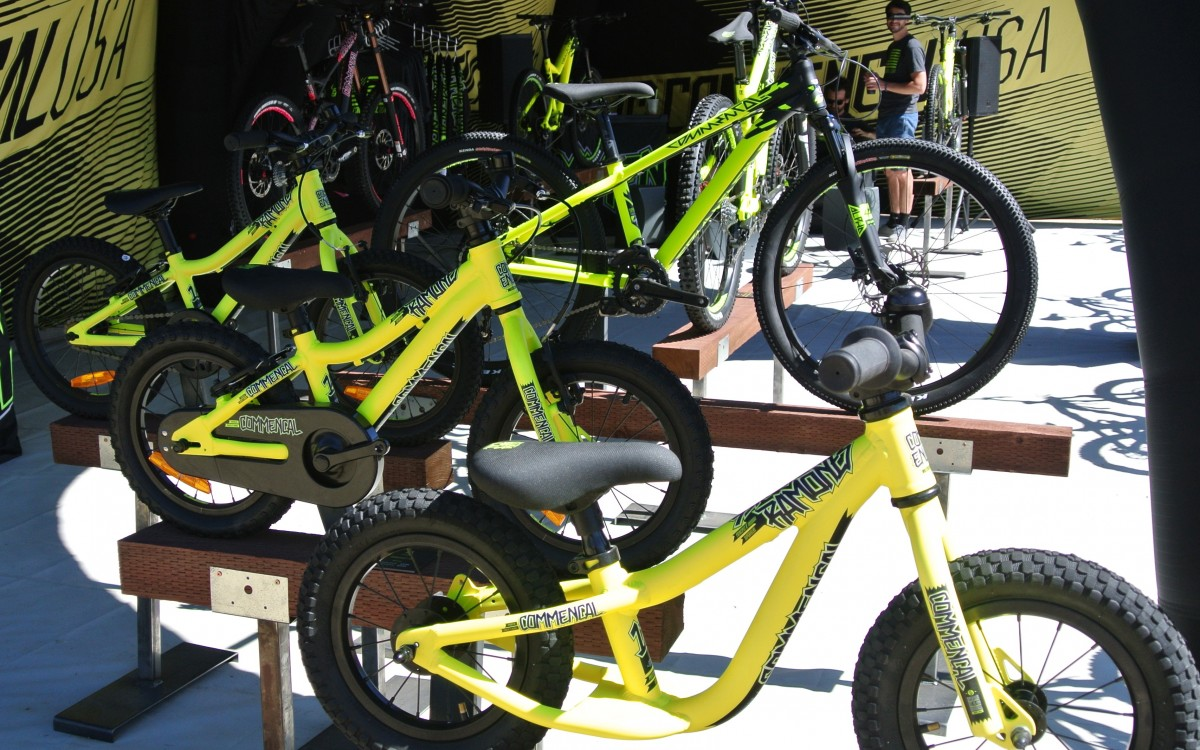 From toddler to preteen, Commencal has a suitable bike for your young shredder