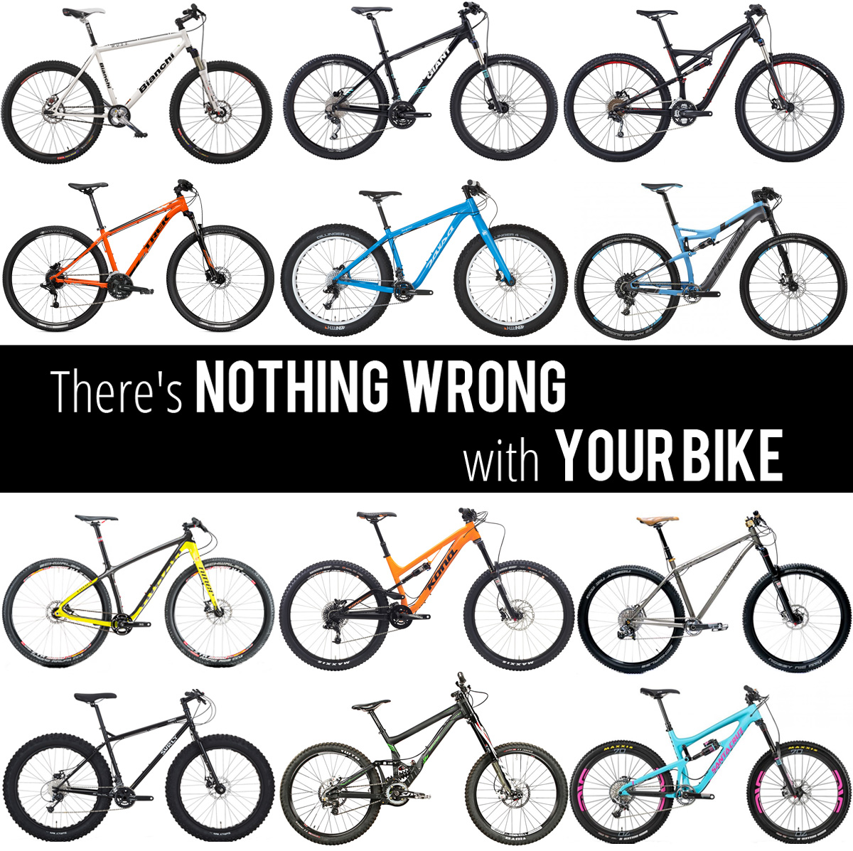 Opinion There S Nothing Wrong With Your Bike