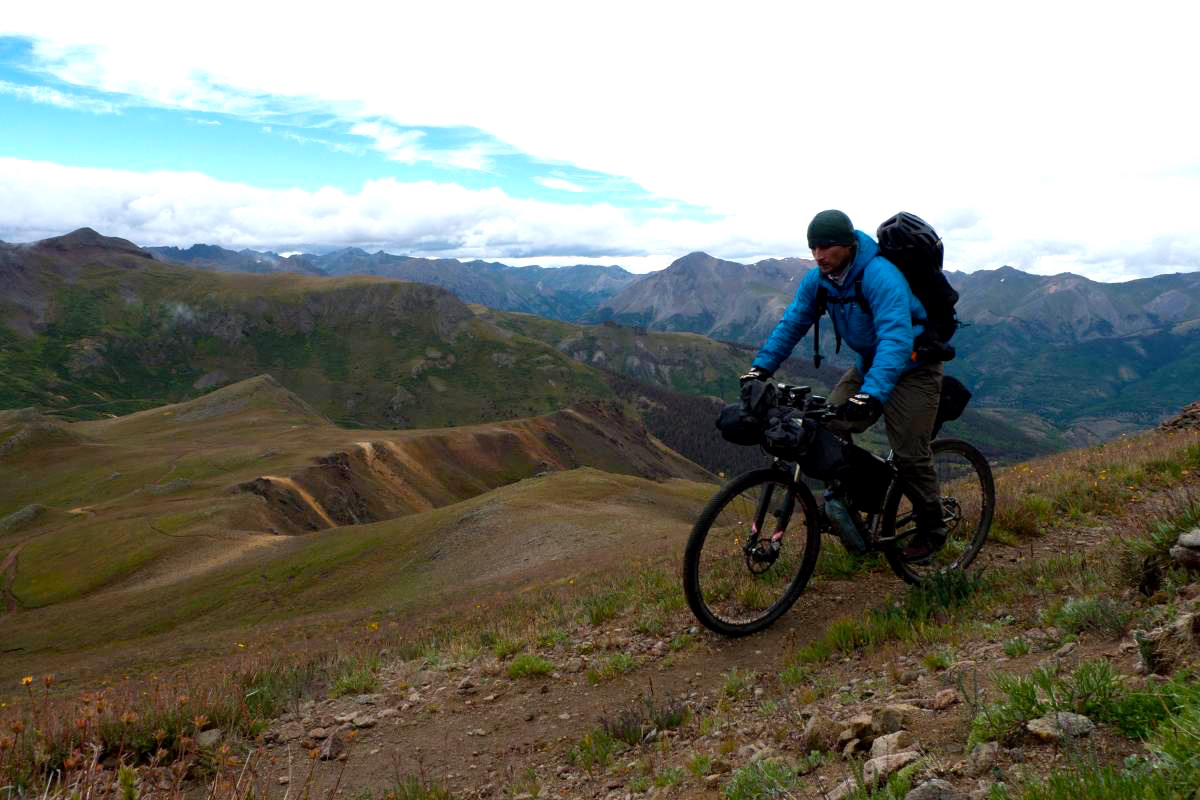Bikepacking the Colorado Trail. Photo: Stumpyfsr
