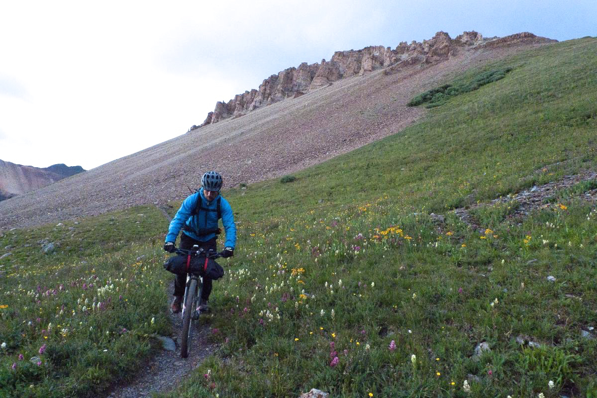 Bikepacking the Colorado Trail. Photo: stumpyfsr.