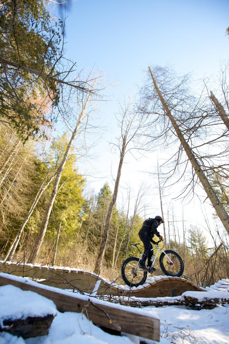 Trail: MTB Kingston, Kingston, Ontario. Photo: Rob Whelan, @whelanfoto