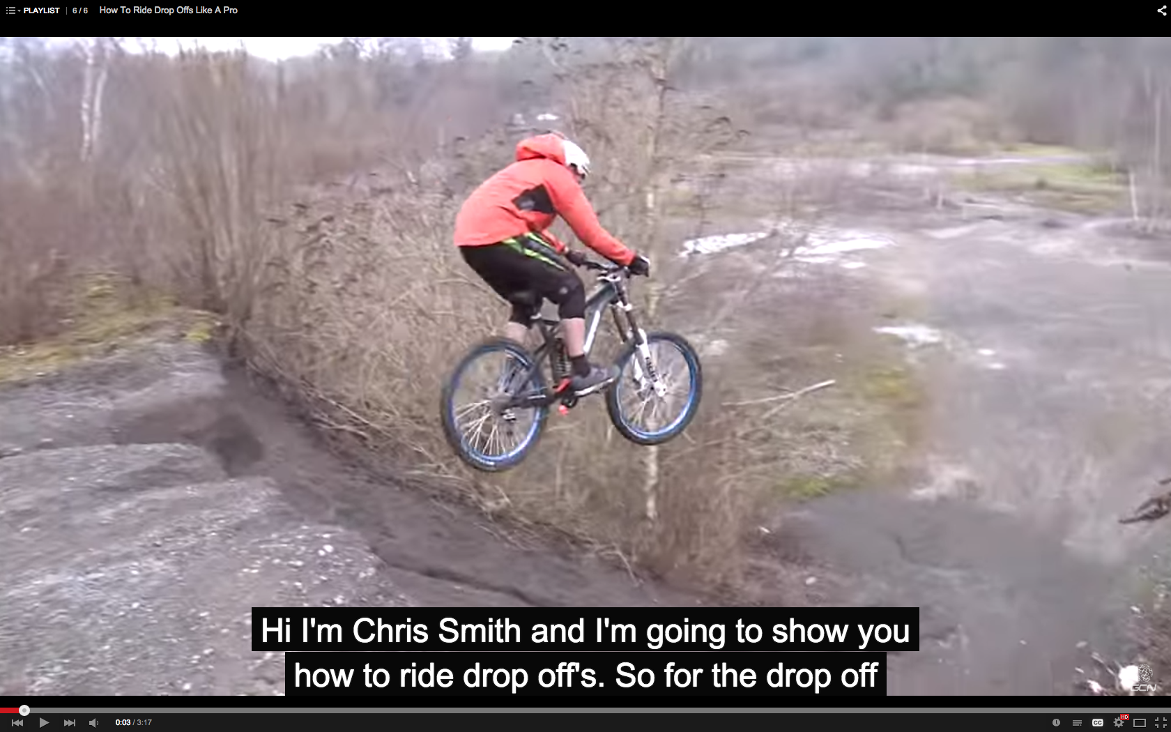 c01571229bde4 Video  How To Ride Drop Offs Like A Pro - Singletracks Mountain Bike ...