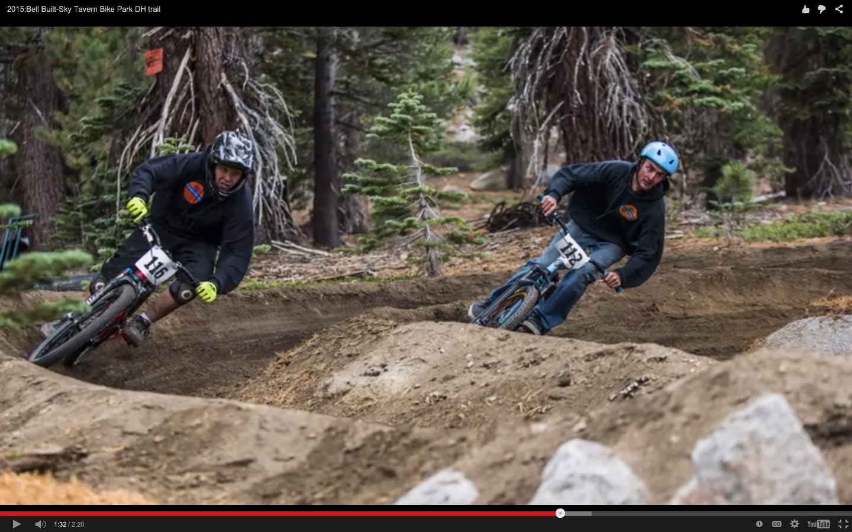 Video Bell Built Contestant Sky Tavern Bike Park Dh Trial Reno