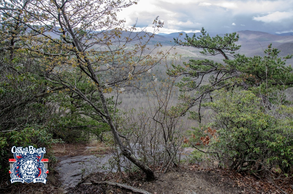 Looking out from Pilot Rock. Photo credit Icon Media Asheville