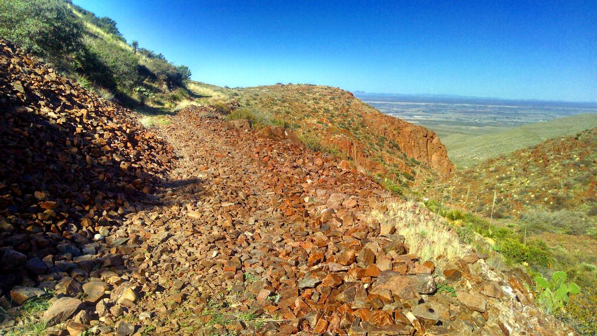 The scree fields were abundant in El Paso. Photo by: jkldouglas