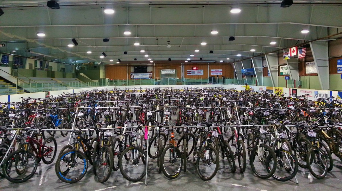 The bikes of BC Bike Race