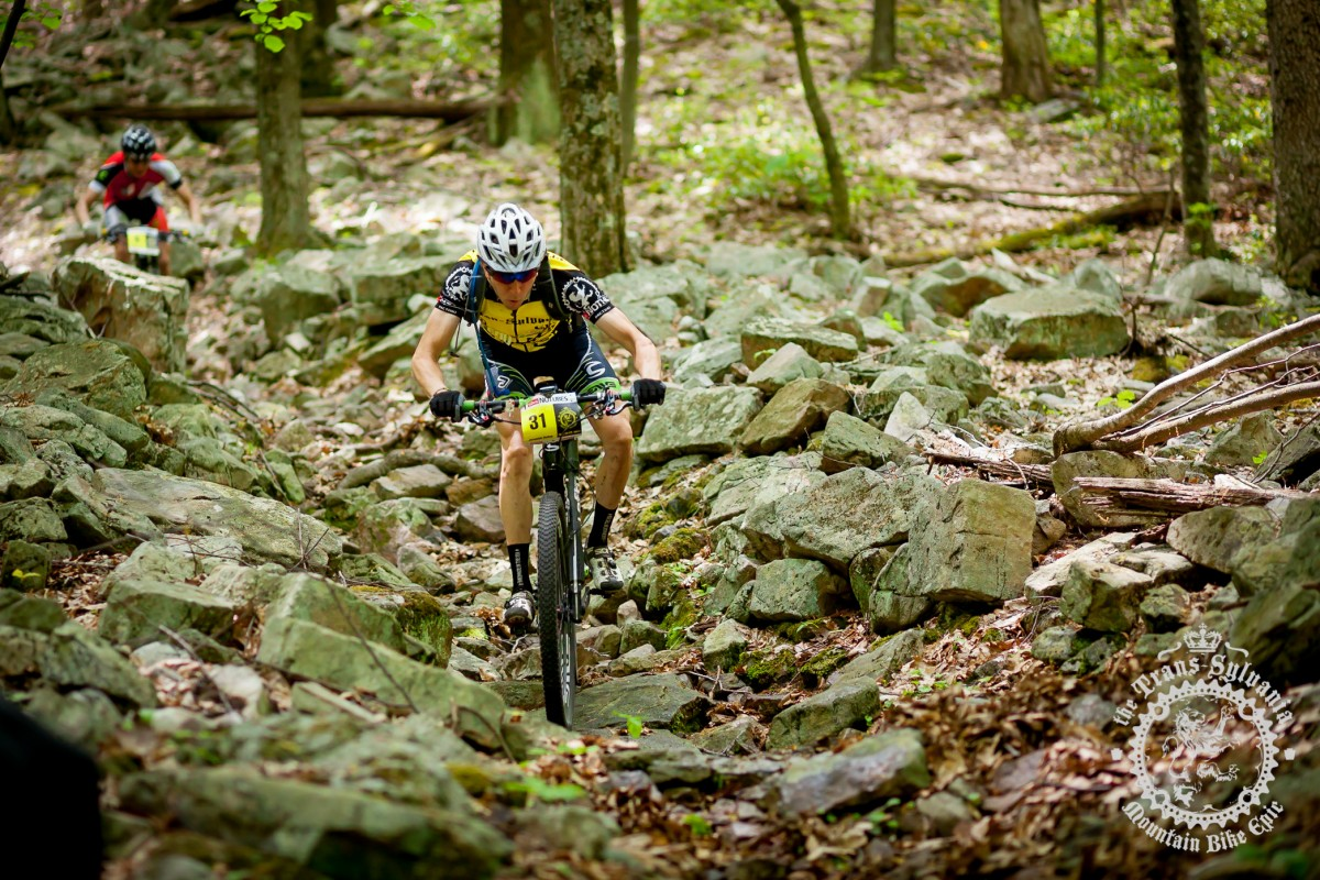 East Coast rocks! photo courtesy Trans-Sylvania Epic