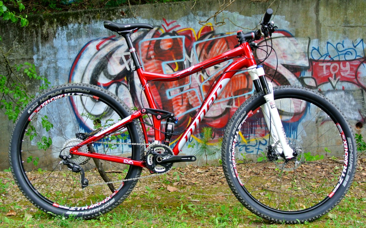 The Niner JET 9 Alloy with 3-Star build