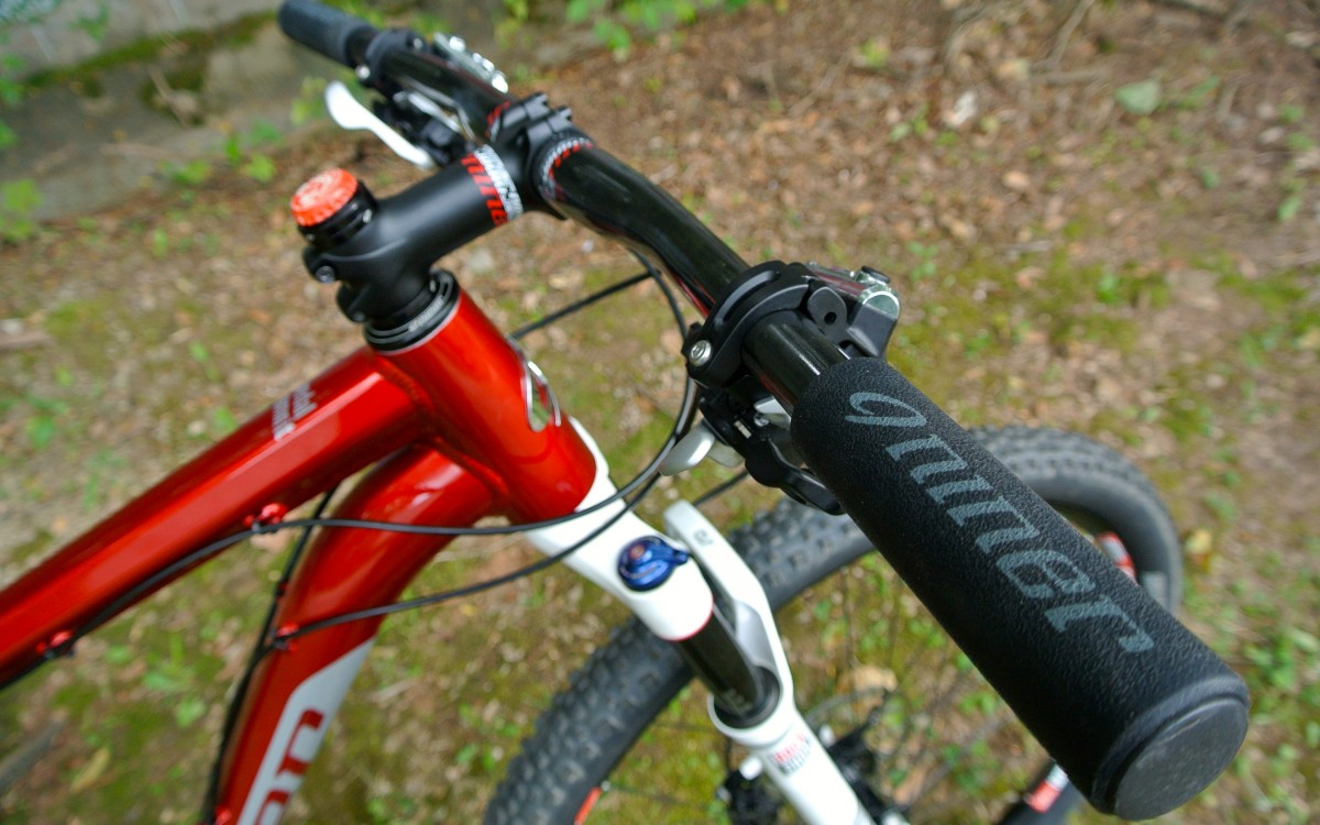 Niner's grips may be a bit thick for my liking