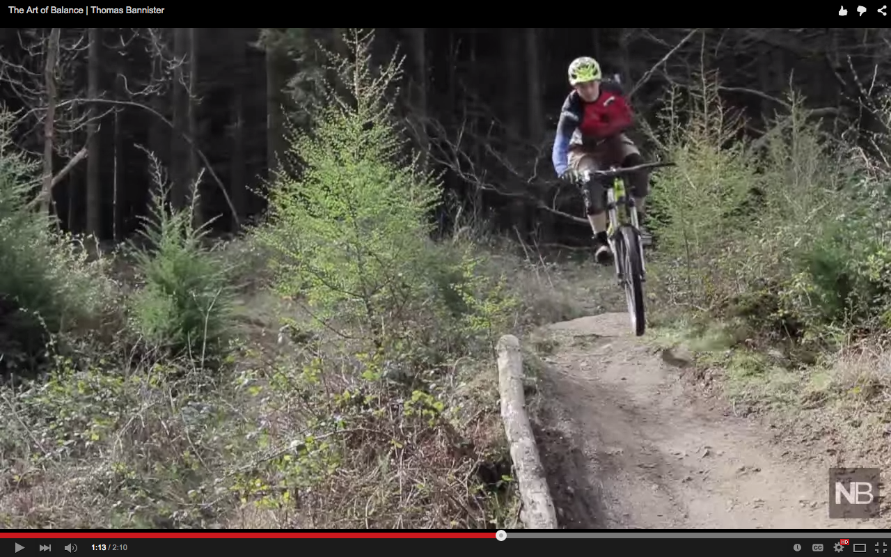 Video: Mountain Biking with One Arm