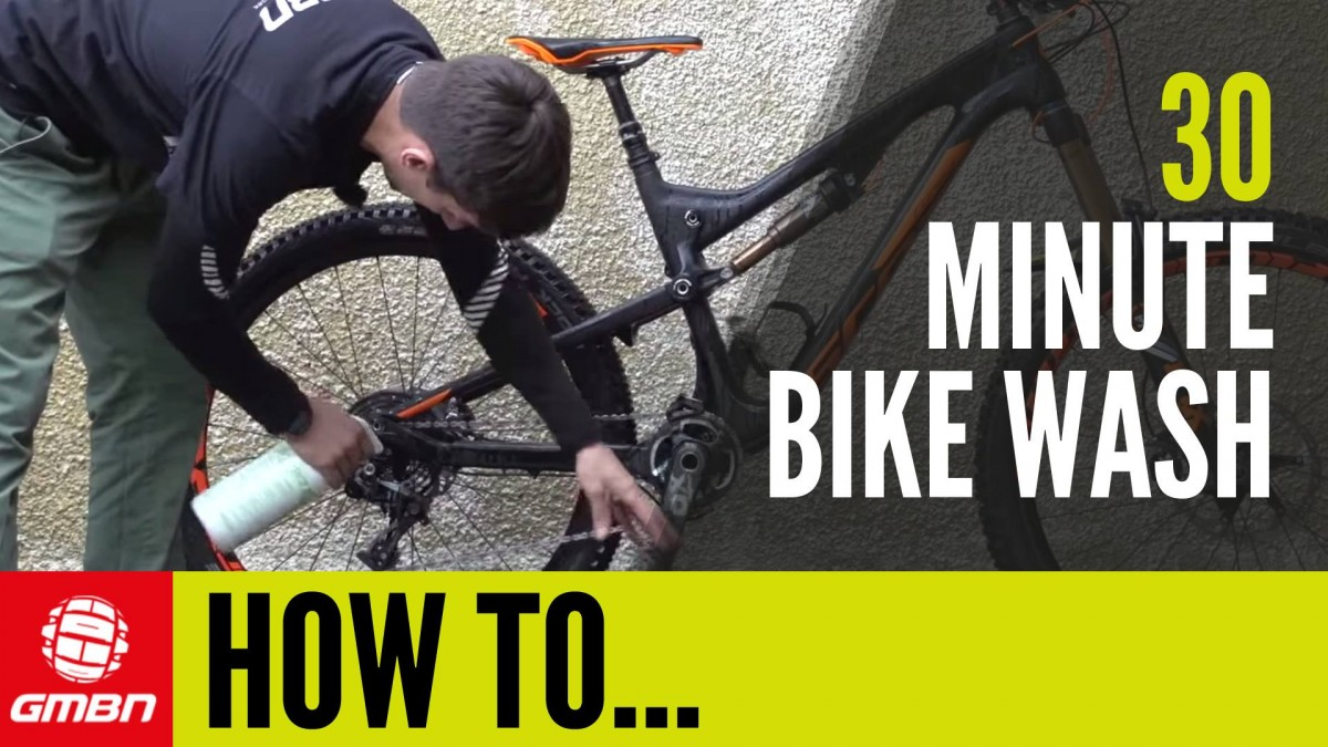 The 30 Minute Bike Wash – How To Clean Your Bike Thoroughly