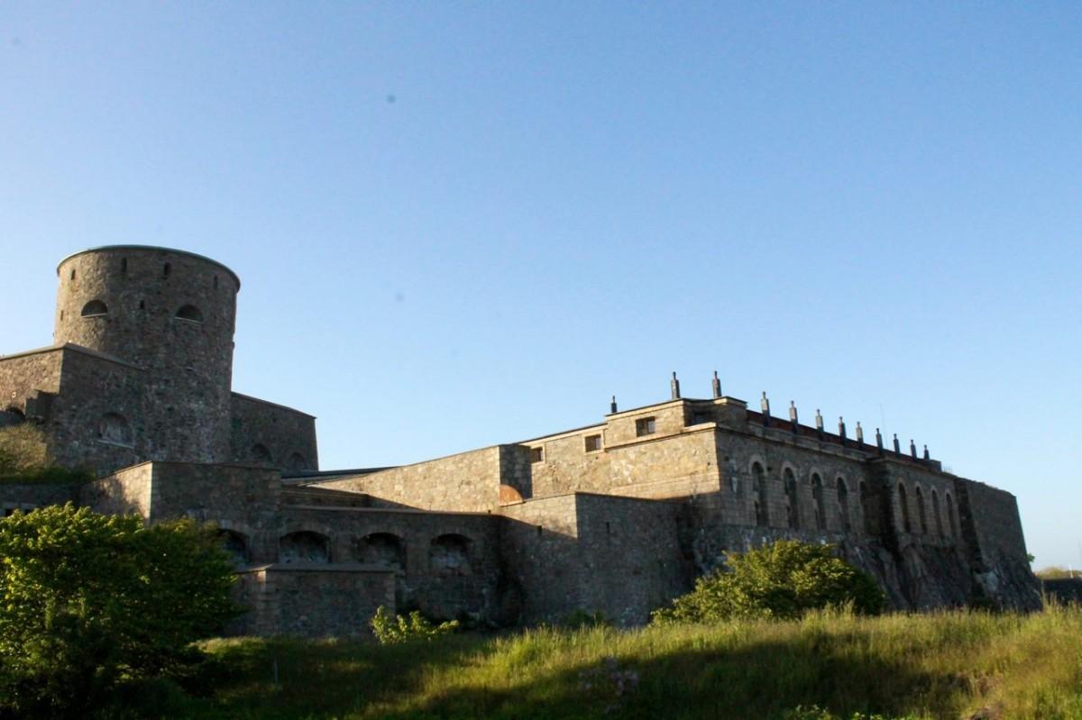 My bike took me here: Carlsten Fortress, Marstrand Island, Sweden.