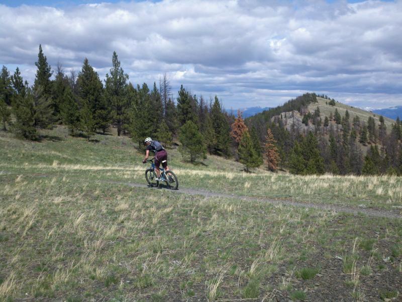 Mount Helena Ridge Trail. Photo: Rocky_Mountain_Flyer