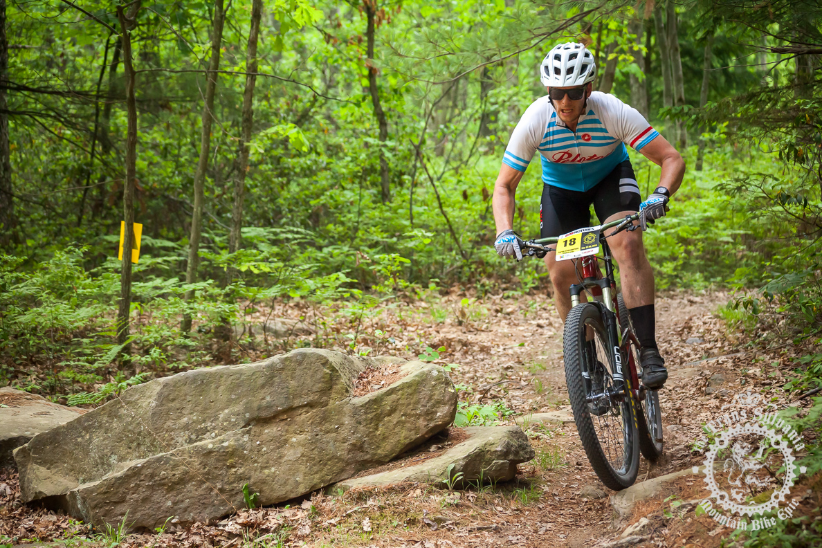 Racing the Trans-Sylvania Epic in the Lazer Way1 glasses (image courtesy of TSEpic Media Team)