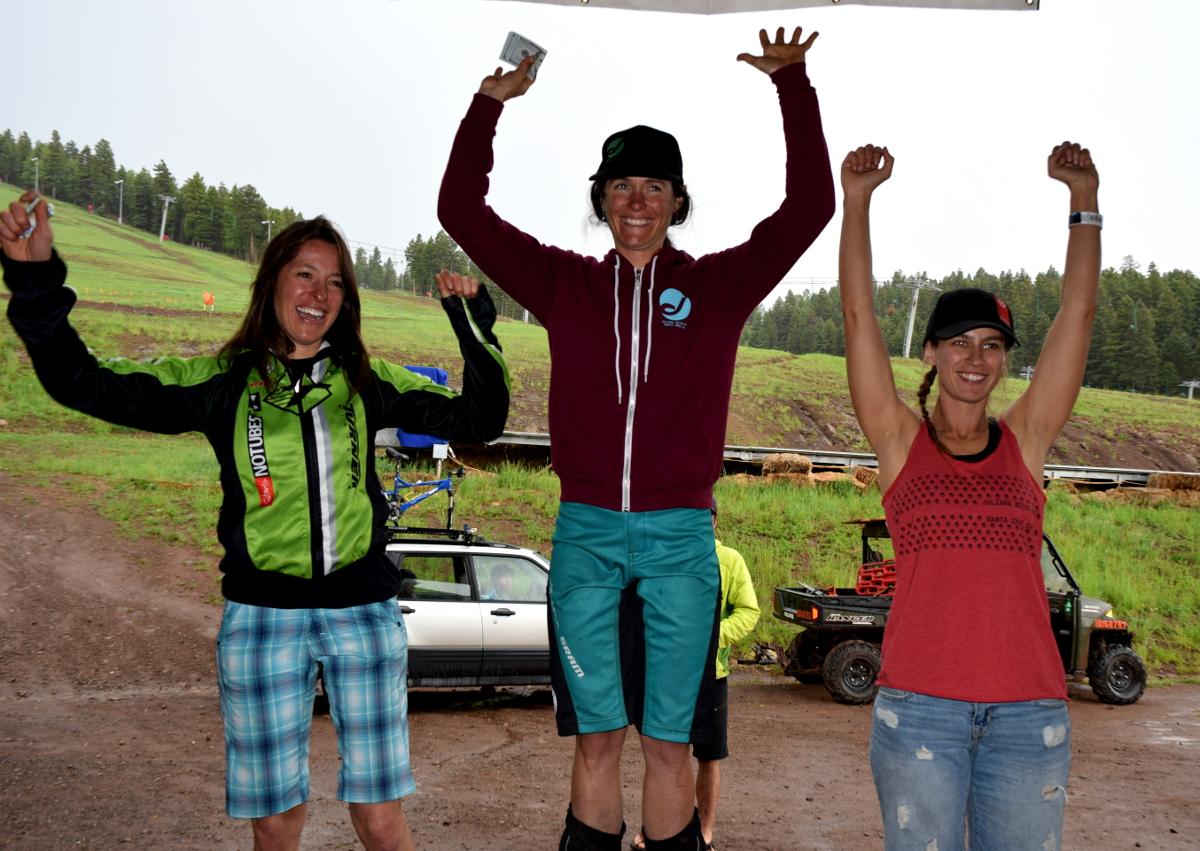 The women Pro/Open podium.