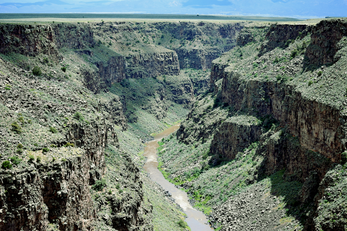 The Rio Grande Gorge is an iconic and breath taking  national monument just a short drive from Taos, NM.