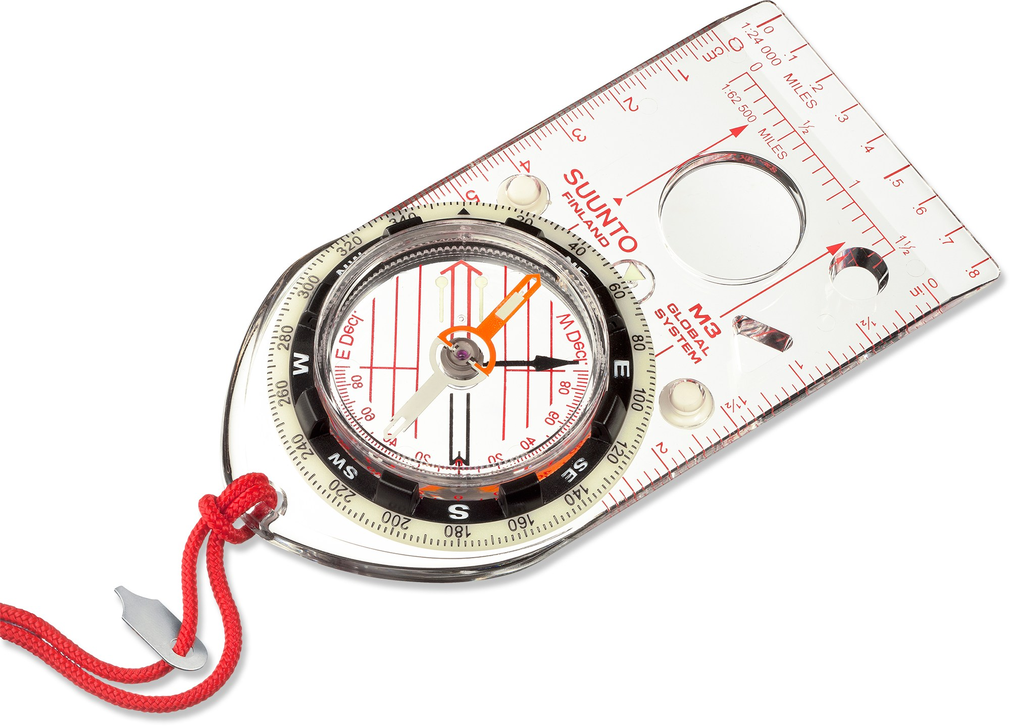 A full-featured compass, like this one from Suunto, is a solid bet.