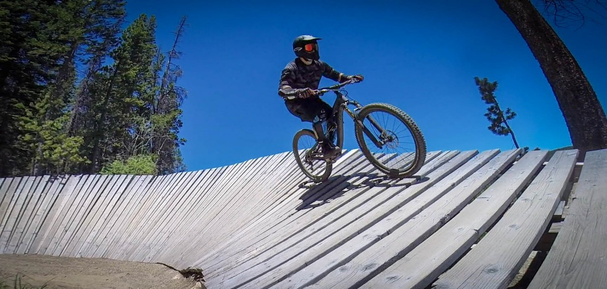 Putting the Mach 6 to the ultimate test: repeat run at Trestle Bike Park