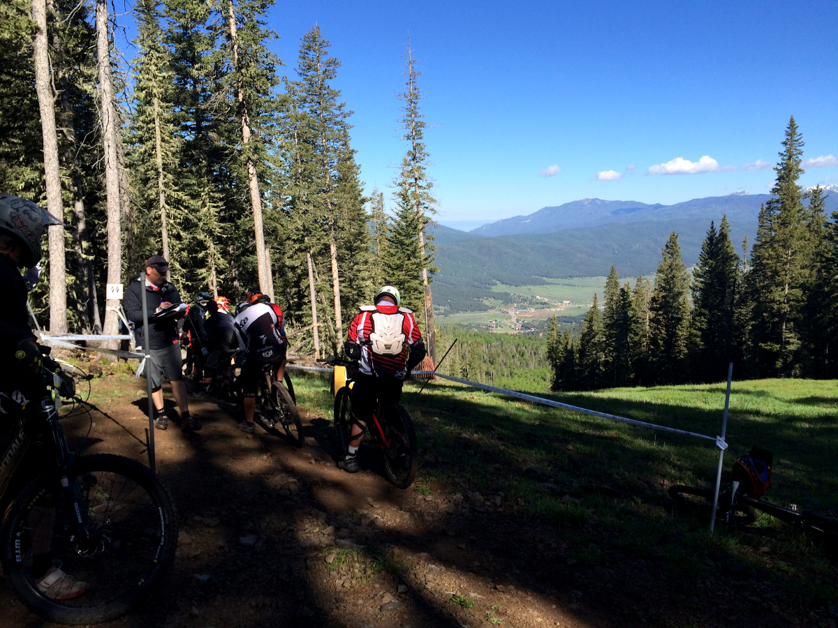 Day 2 featured both downhill and enduro-style trails at the Angel Fire Bike Park.