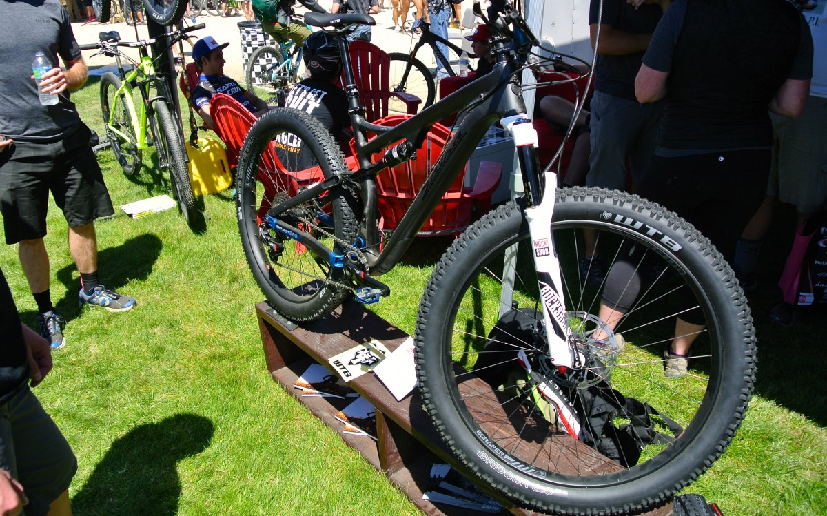 The Pony Rustler in prototype form at the Sea Otter Classic