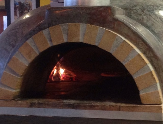 If that's not legit wood-fired pizza, I don't know what is!