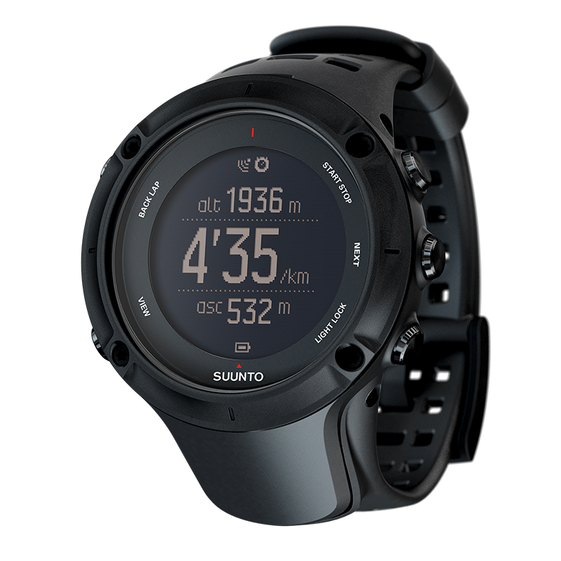 Suunto's Ambit3 is a fine-looking watch Photo Credit: Suunto